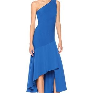 Carmen Marc Infusion One Shoulder Gown NEW